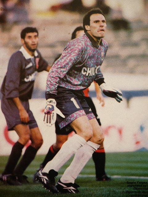 Camisetas U. de Chile: Camiseta Sergio Vargas 1994