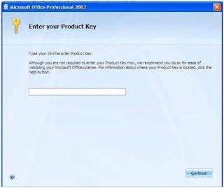 Cara Menginstal Microsoft Office 2007