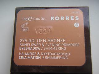 Sunflower & Evening Primrose Eyeshadow by Korres #22