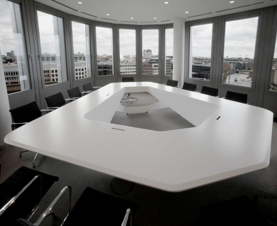 Mesa de Reunião com Estilo - Design Innova