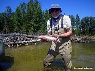 John Bolton on the Bitterroot River