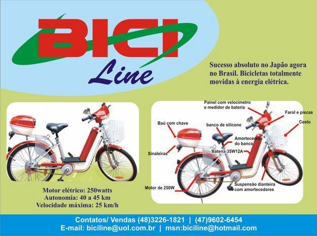 Bicicletas elétricas em Florianópolis