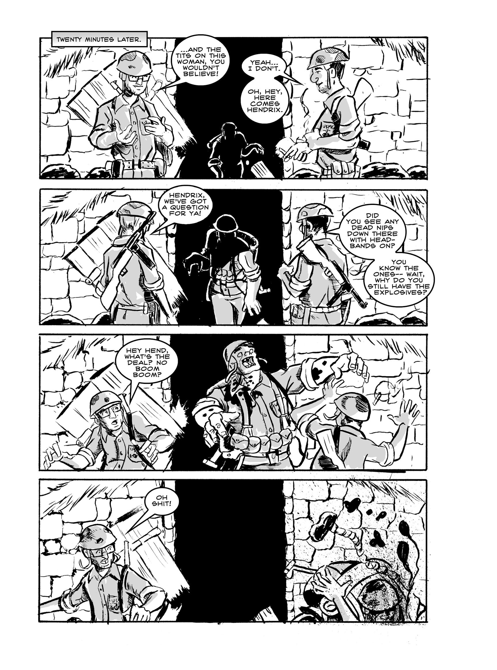 Read online FUBAR comic -  Issue #2 - 155