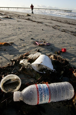 L A T I T U D E: Plastic Water Bottle Pollution