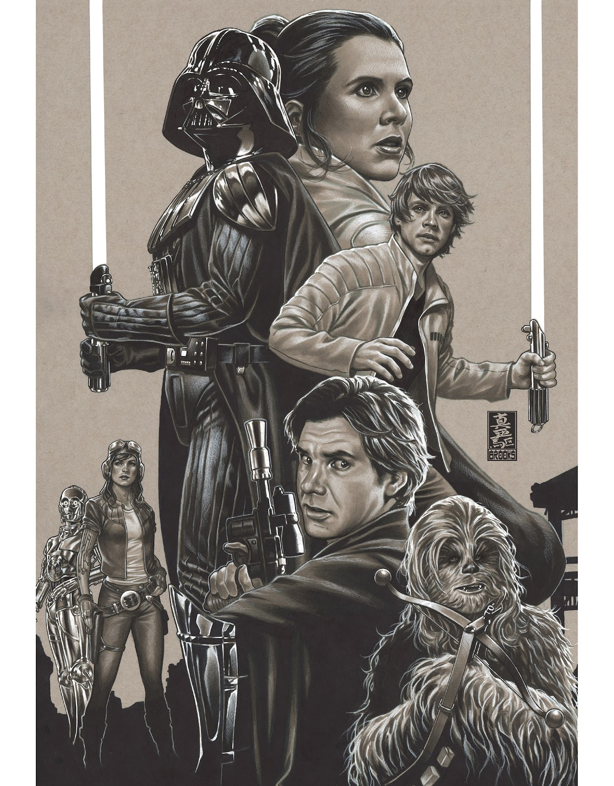 Read online The Marvel Art of Star Wars comic -  Issue # TPB (Part 2) - 45