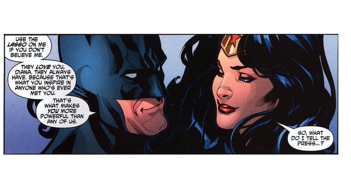 In Which I Talk About Comics: Batman/Wonder Woman...OTP?