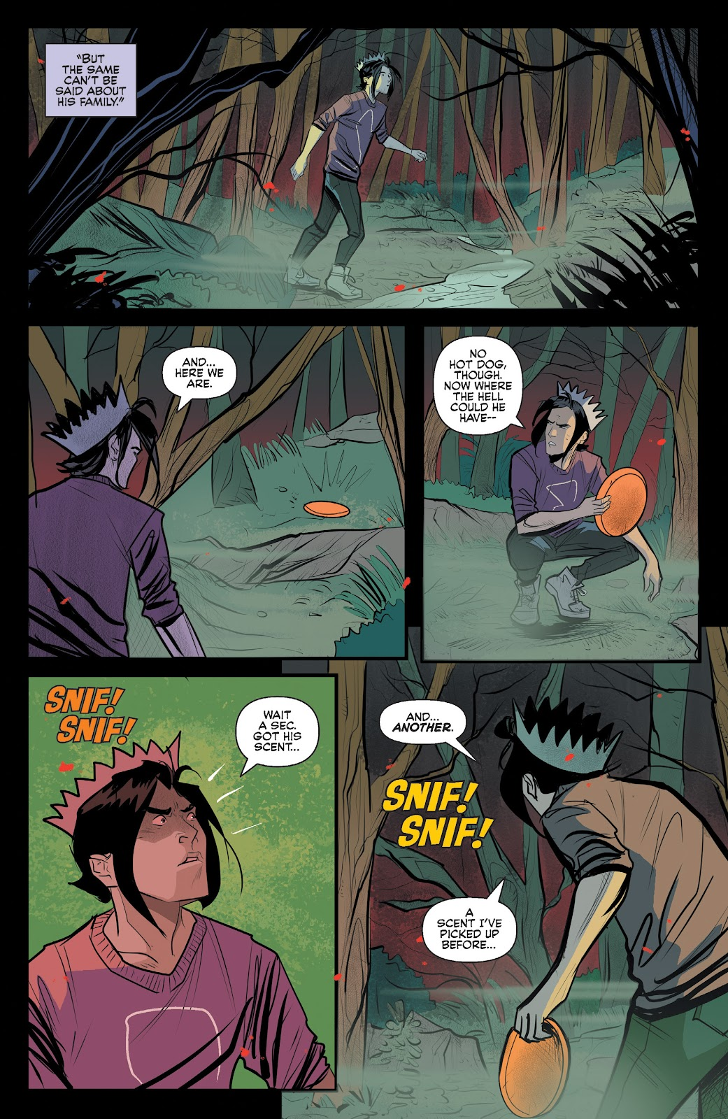 Read online Jughead The Hunger comic -  Issue #12 - 12