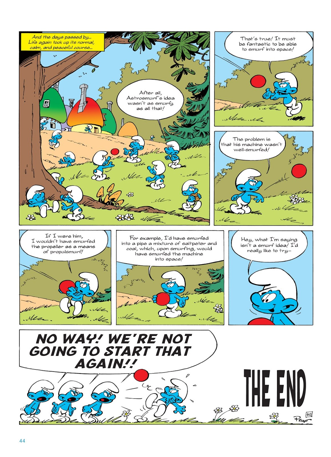 Read online The Smurfs comic -  Issue #7 - 44
