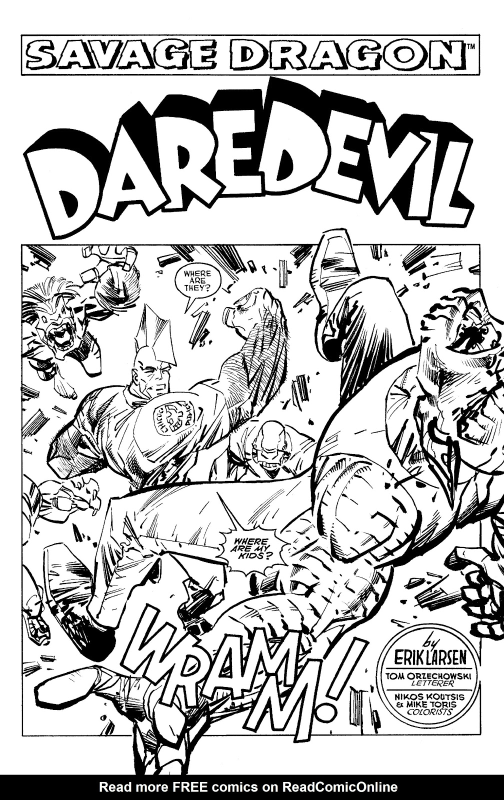 Read online Savage Dragon Archives comic -  Issue # TPB 6 (Part 5) - 33