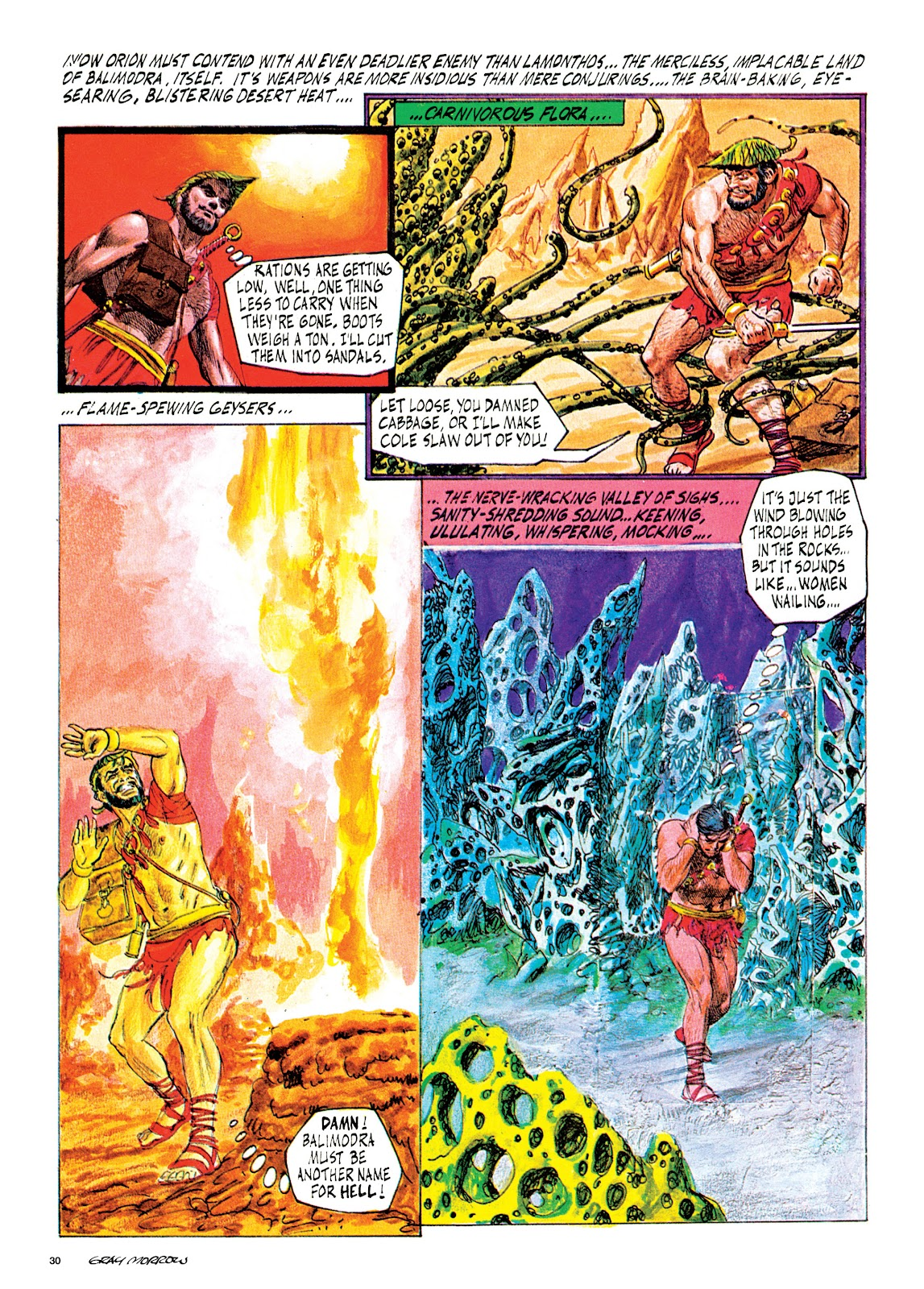 Read online Orion and Edge of Chaos comic -  Issue # TPB - 31