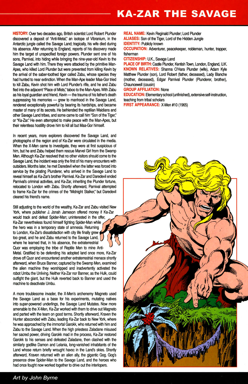Read online All-New Official Handbook of the Marvel Universe A to Z comic -  Issue #6 - 9
