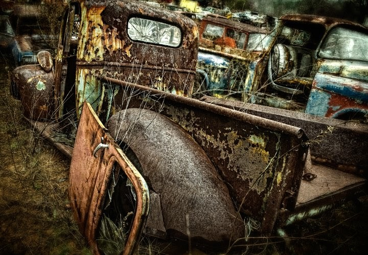Junk Yards Near My Location >> Dan Routh Photography: Junk Yard Revisited