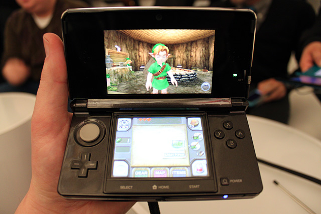 Nintendo 3DS: Legend of Zelda Ocarina of Time 3D