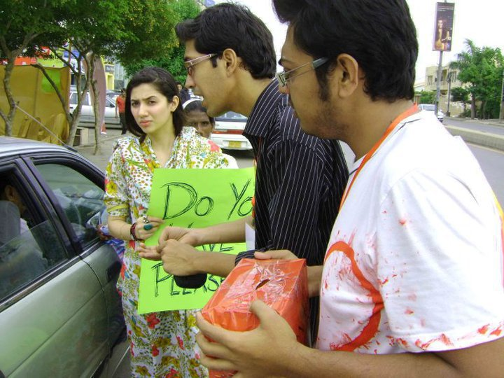 Vj Mahira Khans Flood Relief Efforts (21st Aug 2010