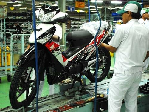 Modification Motor: New Striping 2010 Honda Supra X 125