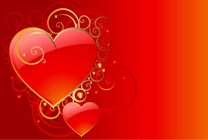 Valentine Hearts Wallpaper, Love Heart Wallpapers | Valentine's Day