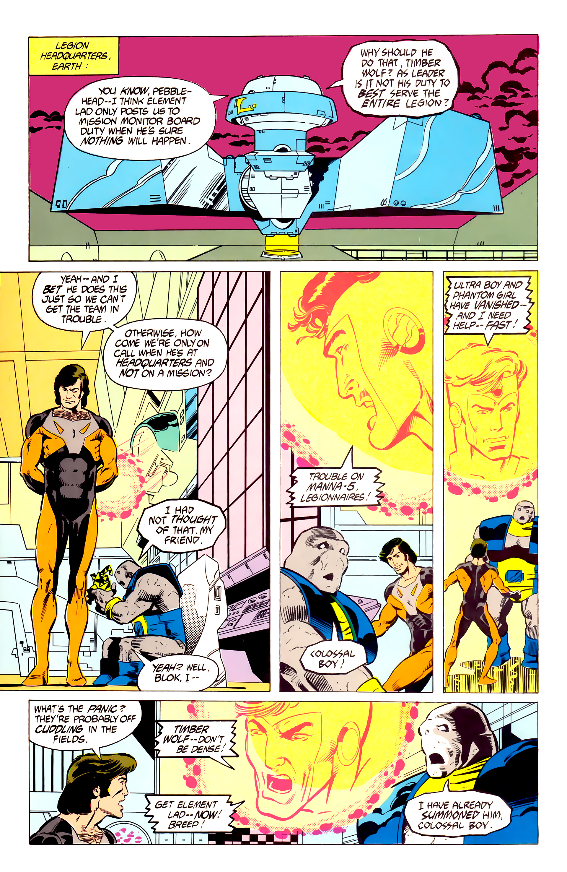 Legion of Super-Heroes (1984) 19 Page 5