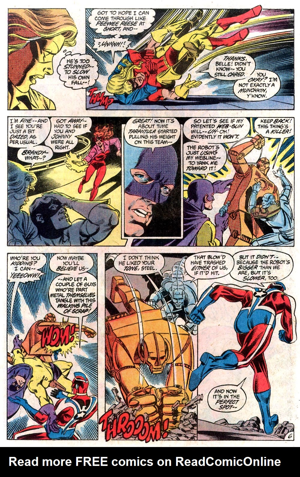 Read online All-Star Squadron comic -  Issue #19 - 6