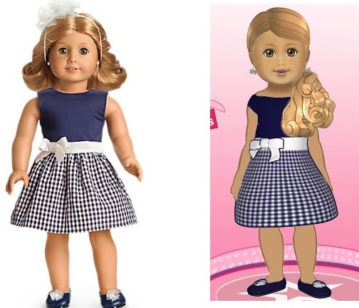 I Heart American Girl Innerstaru And Real Life Outfit