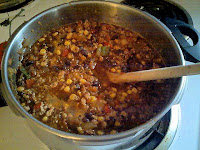 Stout Beer Veggie Chili