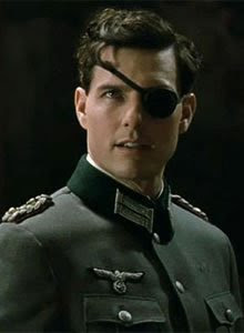 Valkyrie Movie directed by Bryan Singer, starring Tom Cruise as Stauffenberg