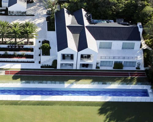 tiger woods new house images