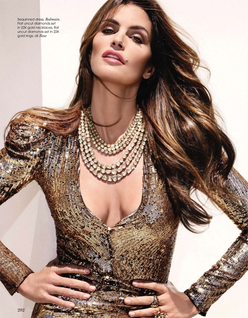 Cindy Crawford S Daughter Talks: CoCo Celine: Cindy Crawford For Vogue India October 2010