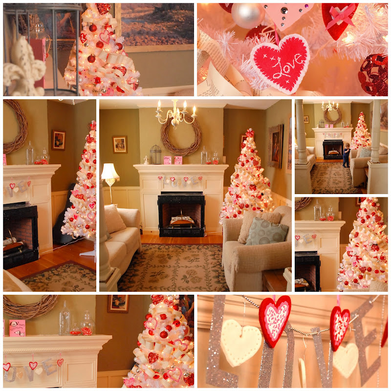 I heart my living room - Valentine day room decoration ...