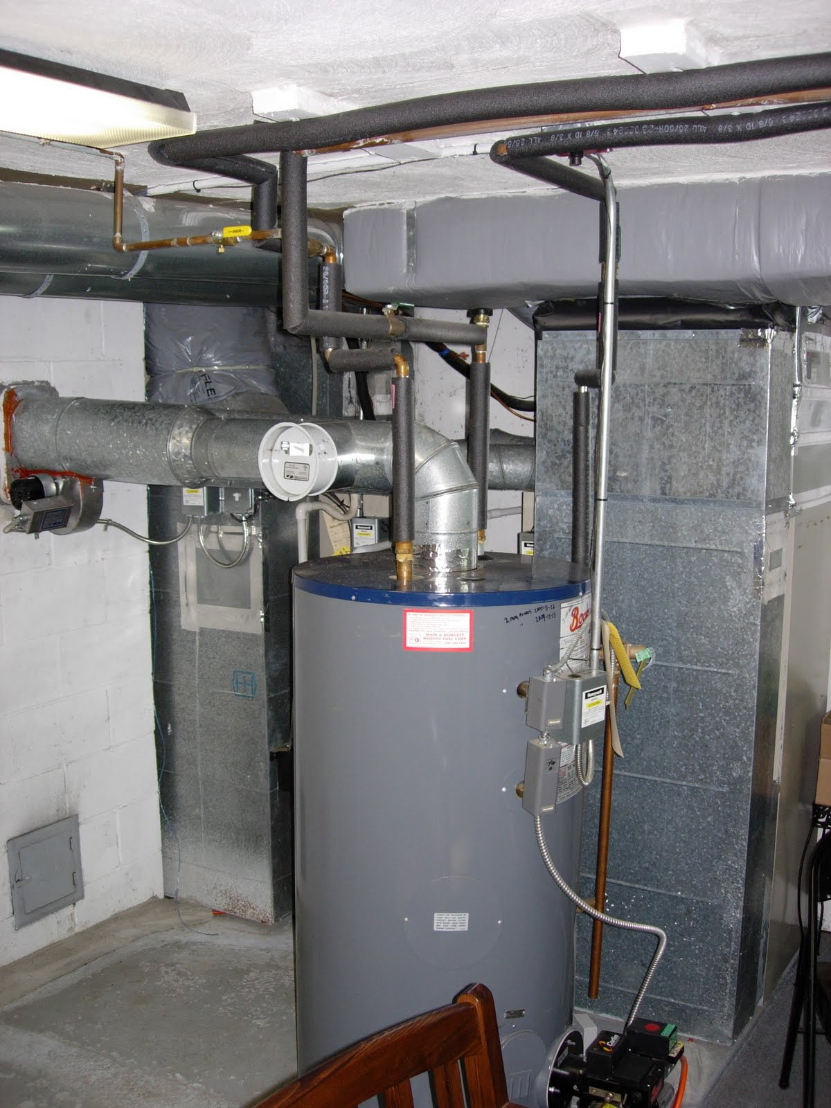 Forced hot air oil furnace keeps cycling
