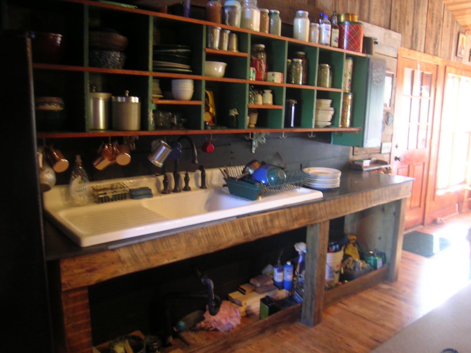 House Art Journal: Homemade Sink Cabinet