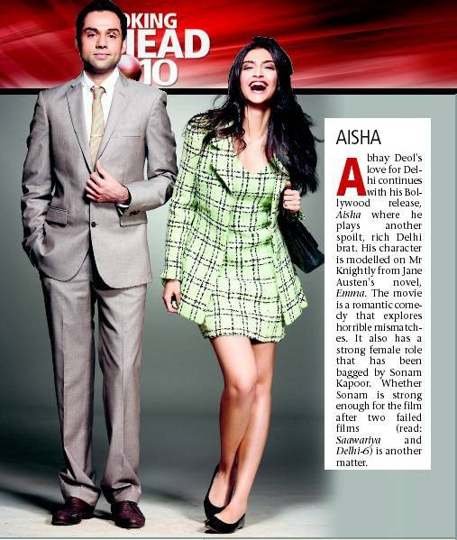 Fashion, Lifestyle and Beauty: InSpot - Sonam Kapoor and ...