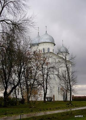 Юрьев монастырь Георгиевский собор фото yuri1812