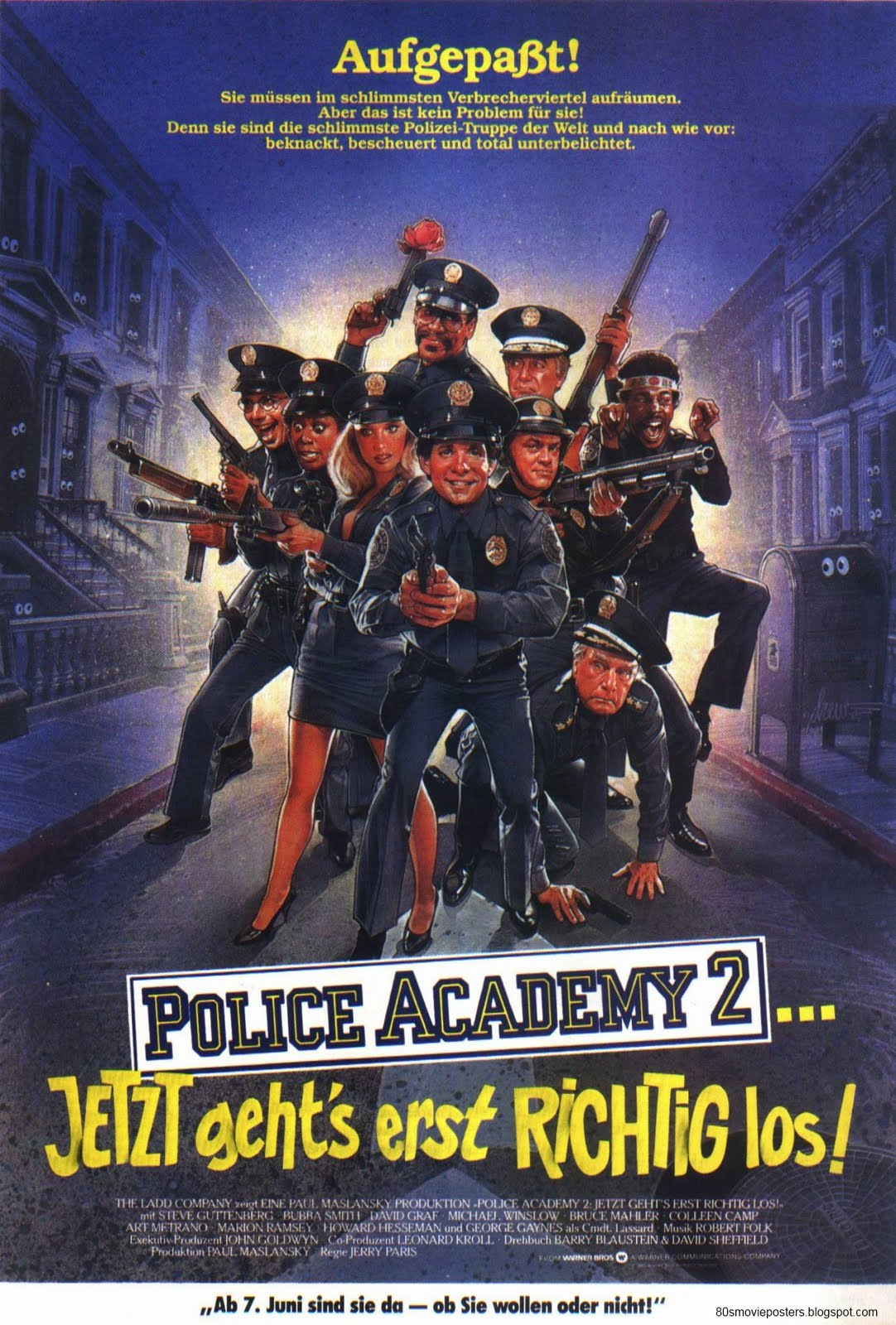 police academy ganzer film deutsch