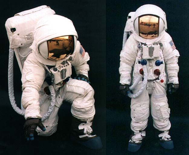 detailed space suit - photo #10