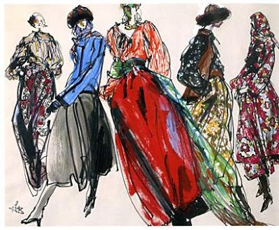 53fa7c90914 Yves Saint Laurent s 1976 Ballet Russes collection
