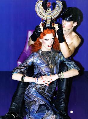 October 2009 Italian Vogue Rianne Ten Haken And Kasia Struss