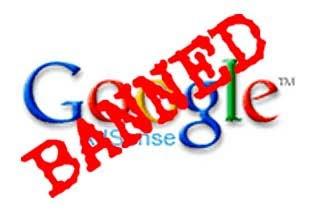 Penyebab Banned adsense