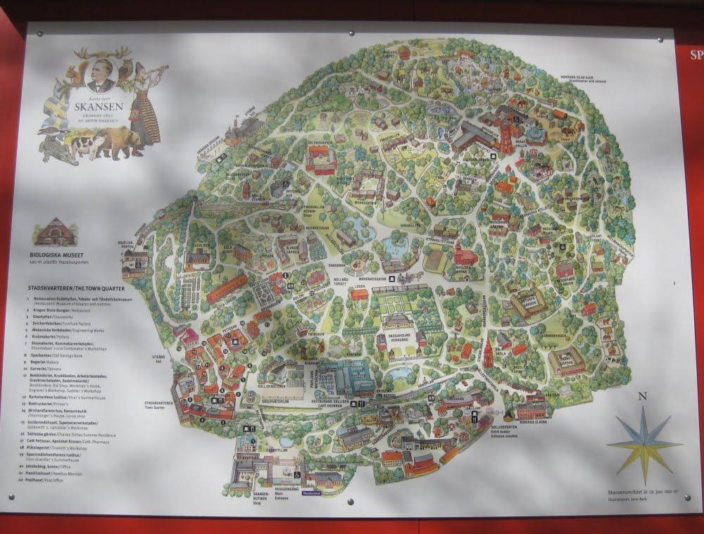 Stockholm: Skansen Plan