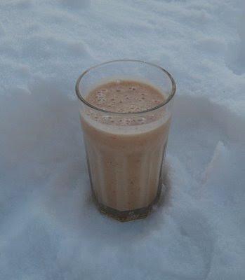 Papaya-Milchshake; Zubereitung Papaya-Milchshake; Papaya-Milchshake selber machen; Rezept