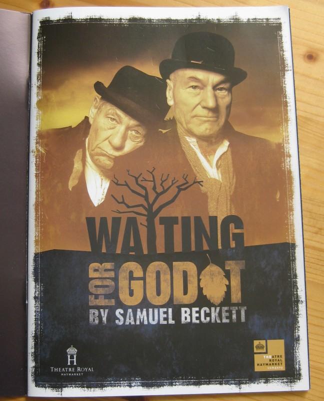 Waiting for Godot im Royal Haymarket Theater, London