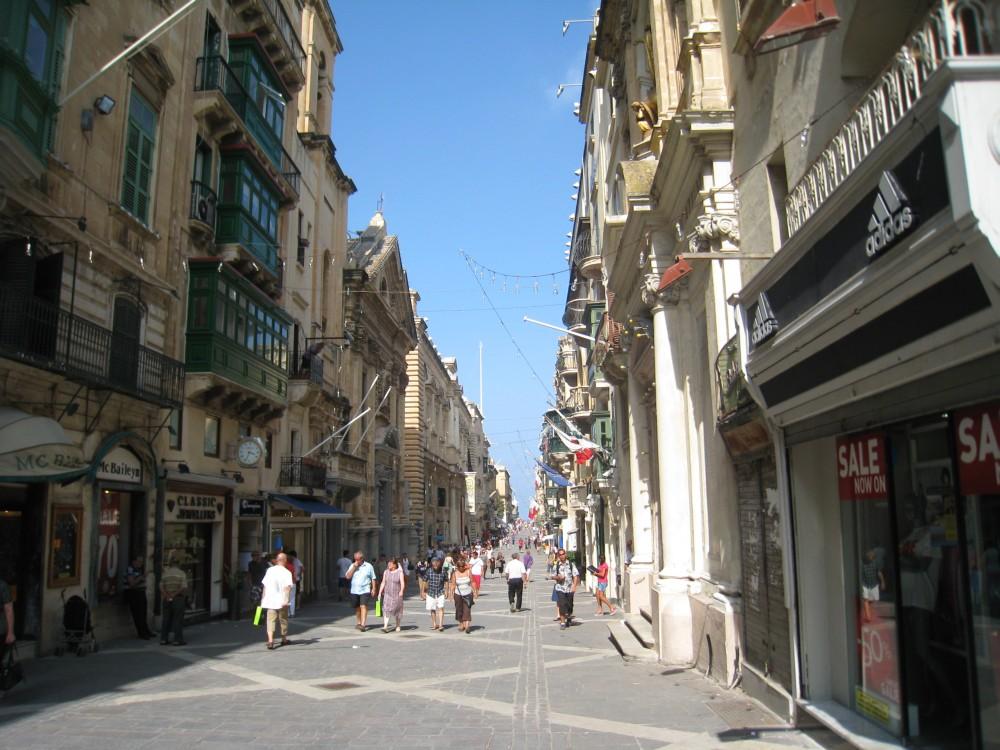 Valletta RepublicStreet, Malta