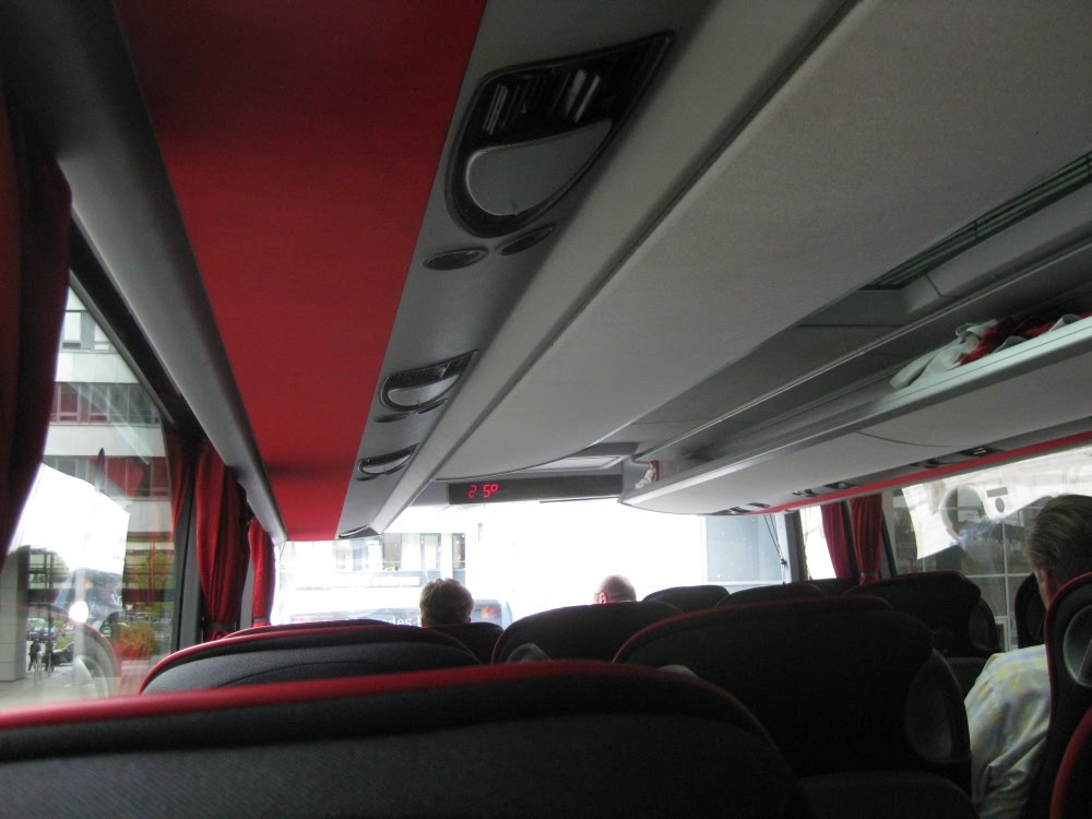 Bus nach Genua
