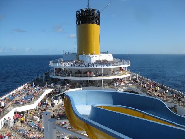 Transatlantik-Kreuzfahrt mit der Costa Fortuna 2010