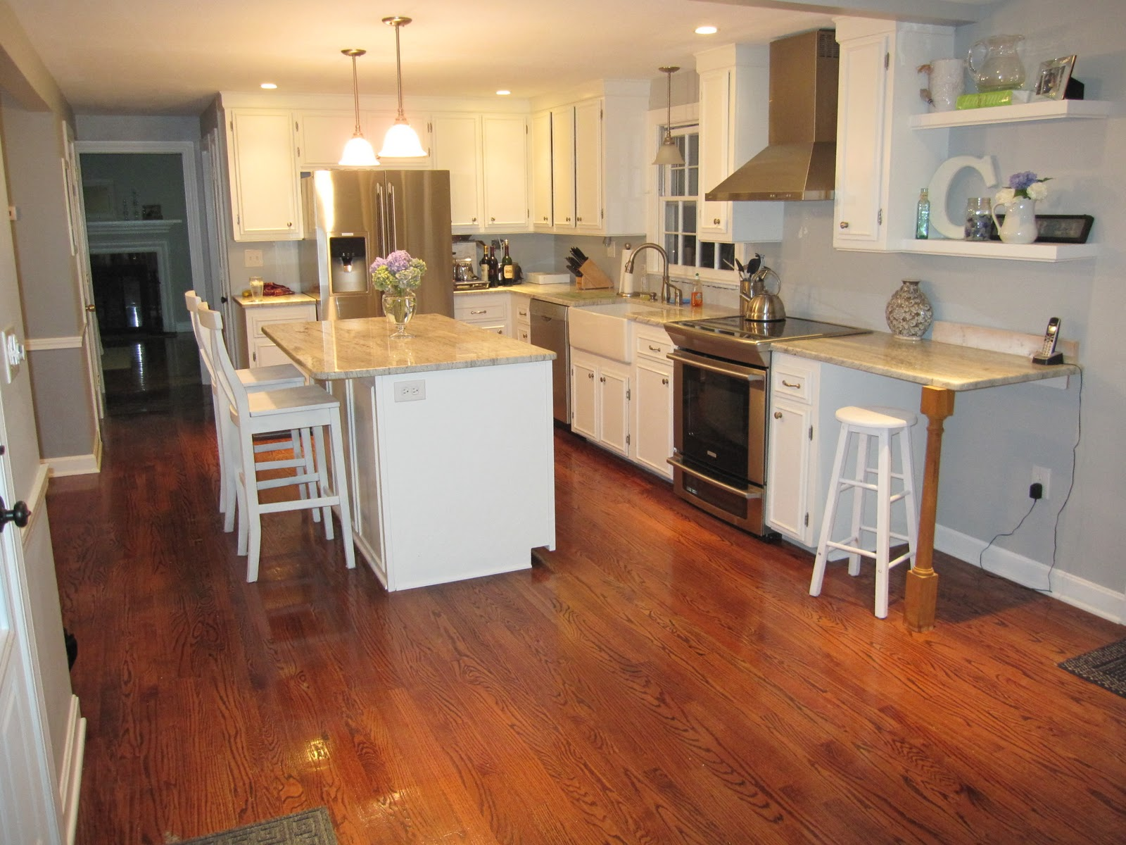 Kitchen With Wood Floor Natural Home Design