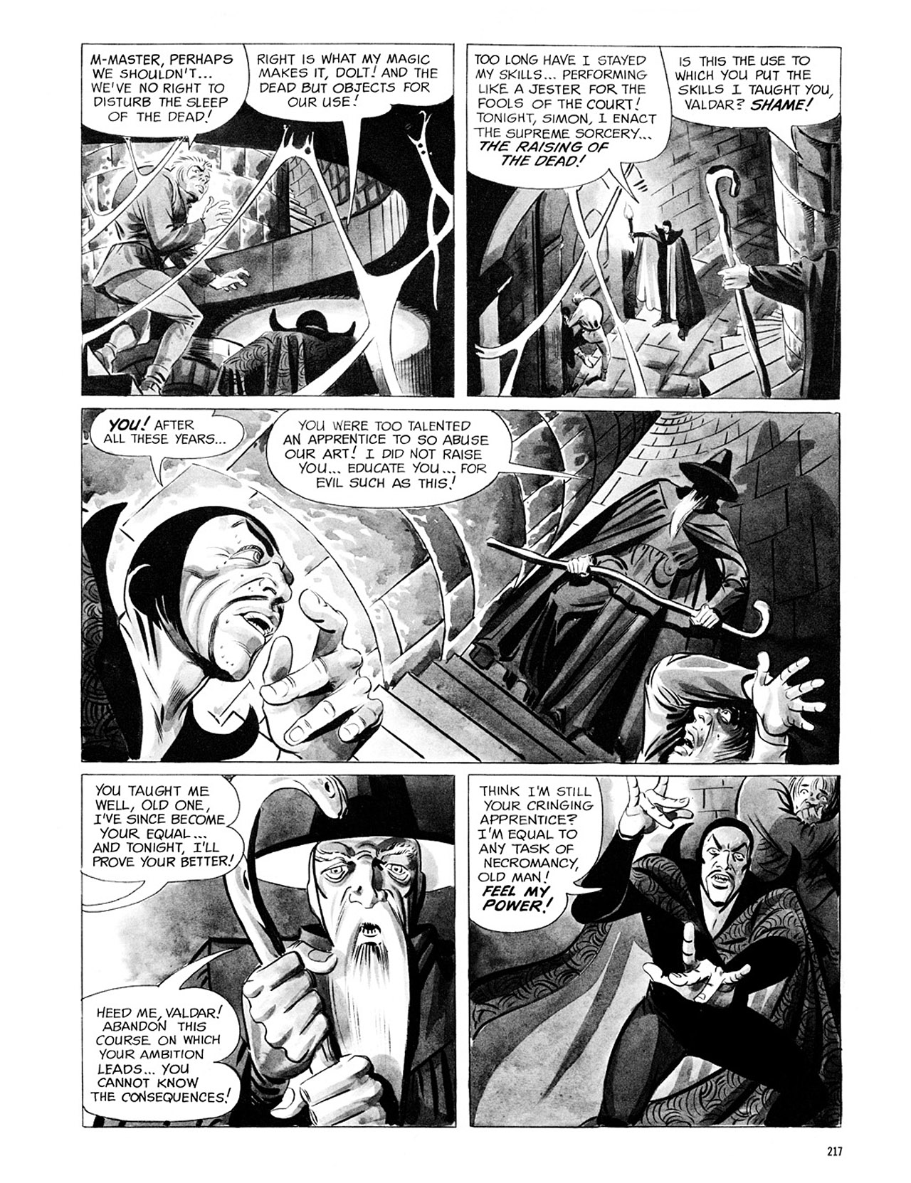 Read online Eerie Archives comic -  Issue # TPB 1 - 218
