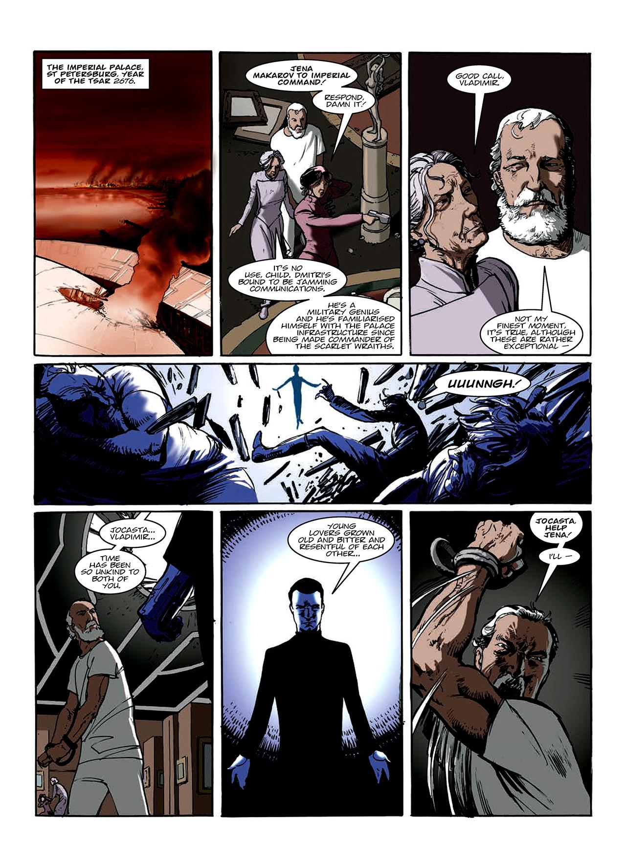 Read online Nikolai Dante comic -  Issue # TPB 10 - 106