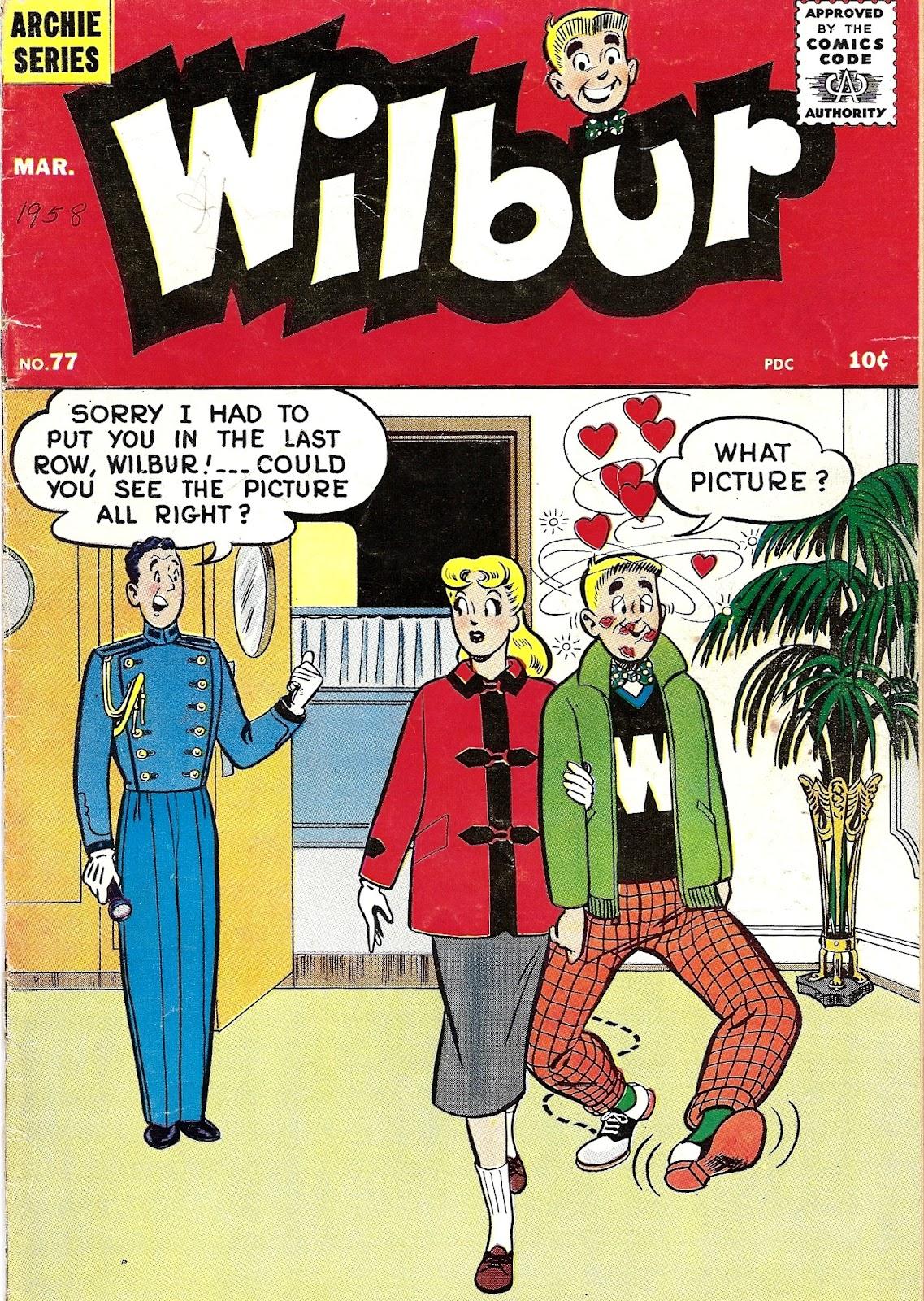 Wilbur Comics 77 Page 1