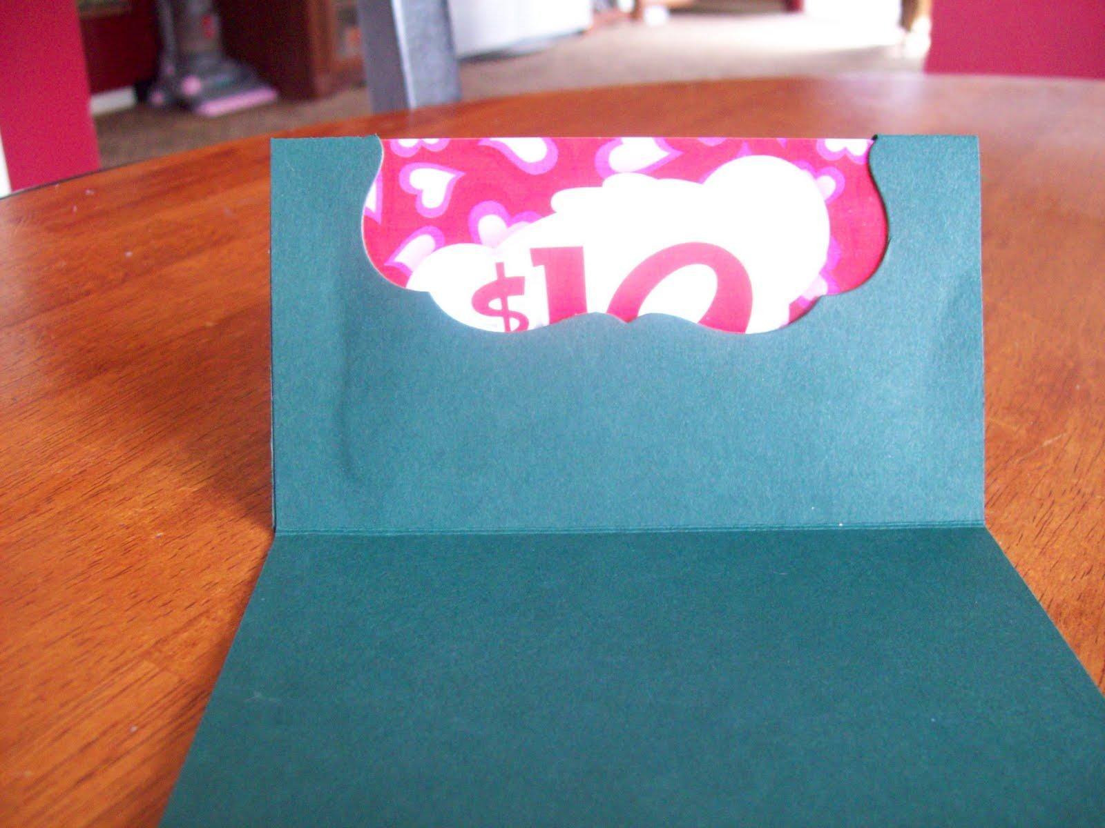Pink Ink Originals Homemade Gift Card Holders