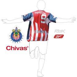 meet 86348 99664 EL BLOGO: Original Chivas Jersey 2007 - $65.99