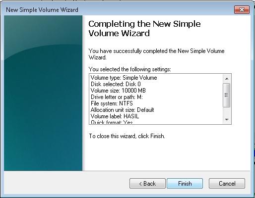 Cara Membuat Partisi Baru di Windows 7 tanpa Software